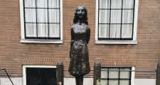 Anne Frank House at the end of the Free Tour