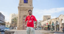 Tel Aviv Free Tour meeting point in front of the Clock Tower of Old Jaffa