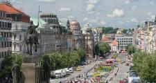 Plaza de Venceslao en Praga